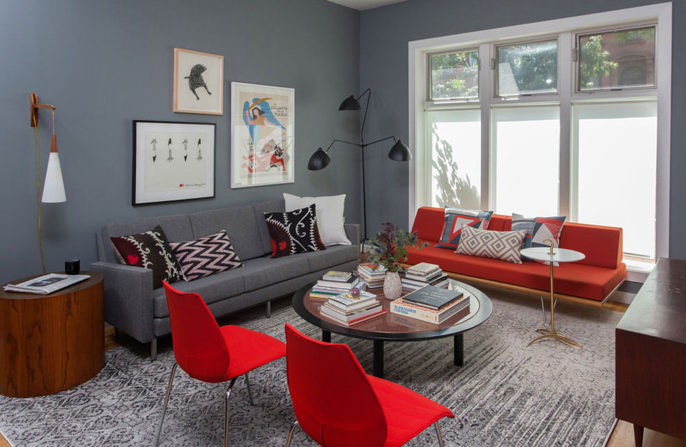 Pictures as interiors decoration elements
