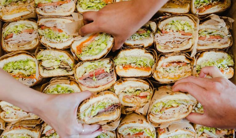 Sandwiches and athletes