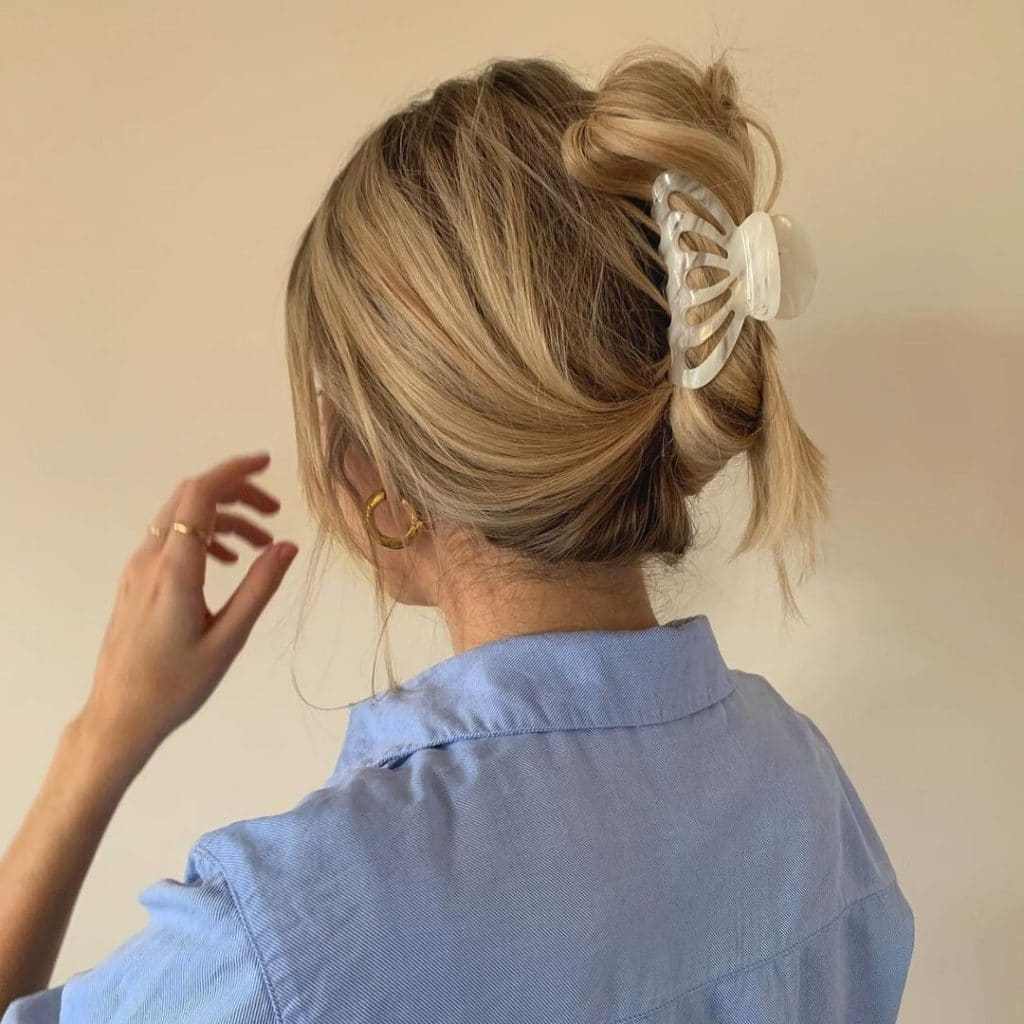 4 types of hairstyles to avoid the heat