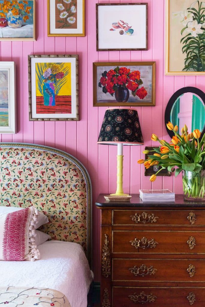 The best way to combine a pink color palette